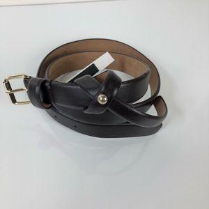Ann Taylor brown leather belt Size medium
